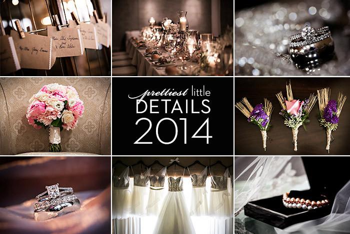Prettiest Wedding Details of 2014