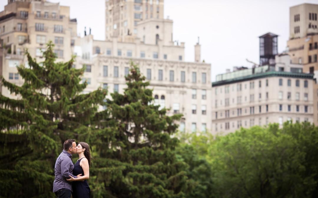 Allison + Andrew | Central Park Engagement Session