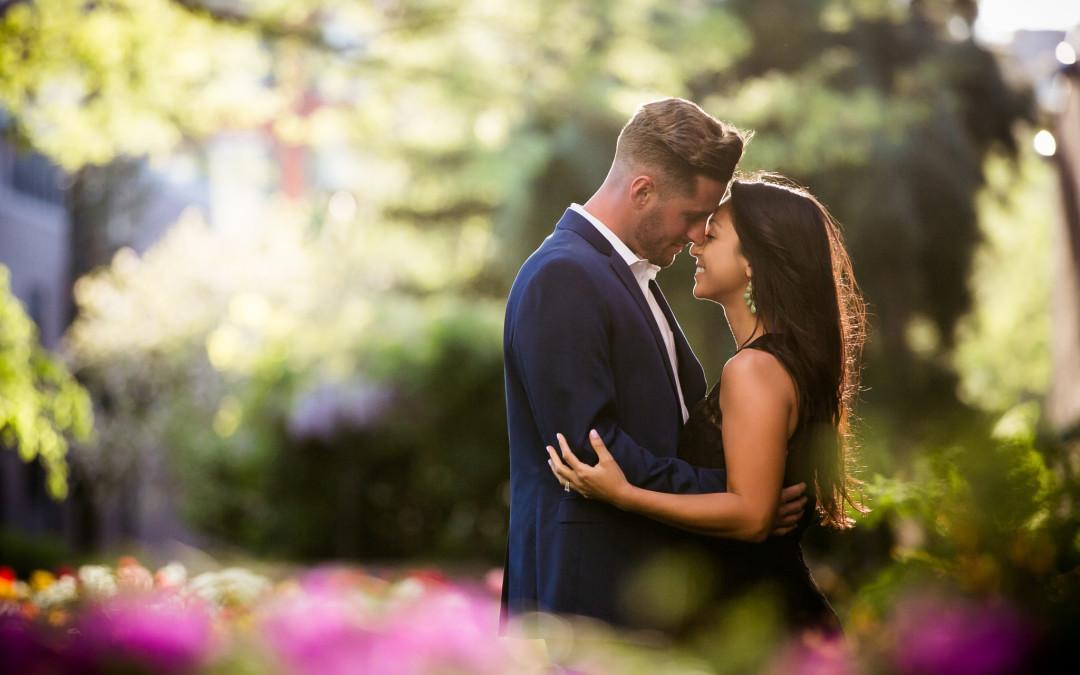 Cristina + Tyler | Philadelphia Engagement Photos