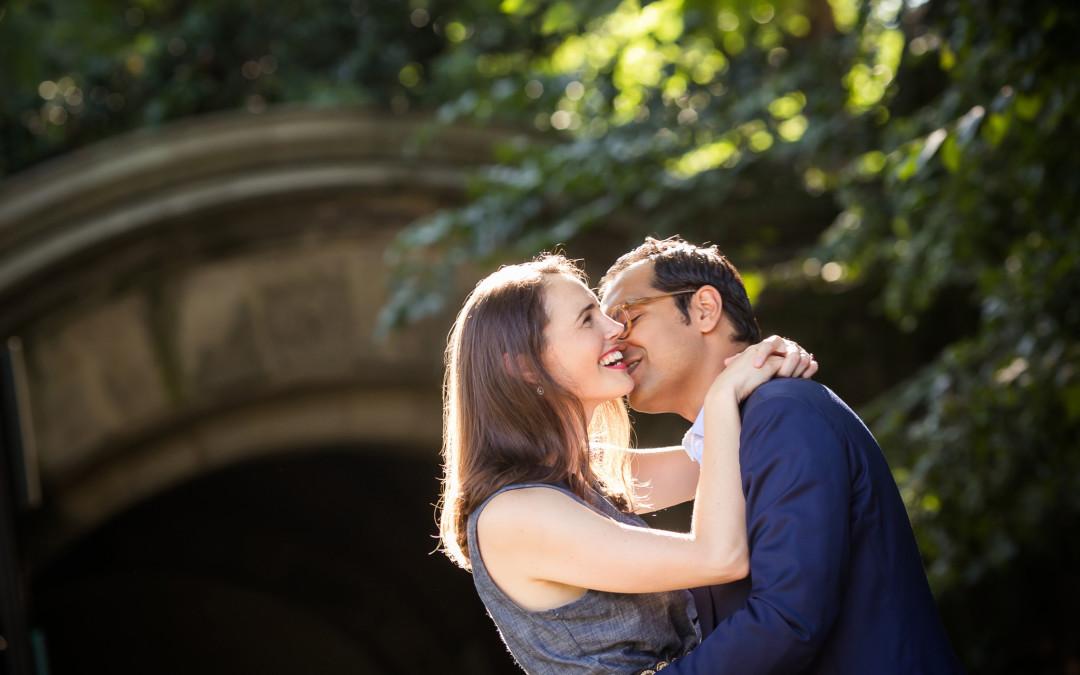 Amy + Saad | Prospect Park Brooklyn Engagement Photography