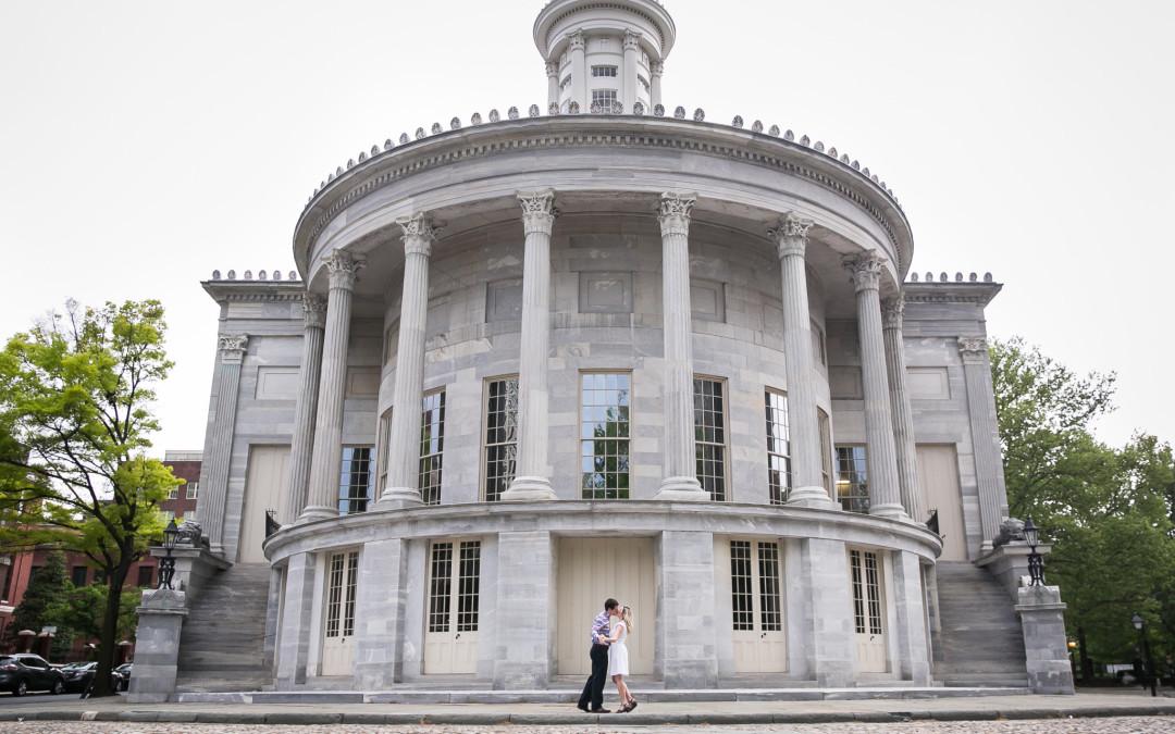 Rebecca + Lyall | Philadelphia Engagement Photographers