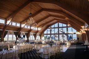 Reception Ballroom at Bonnet Island Estate