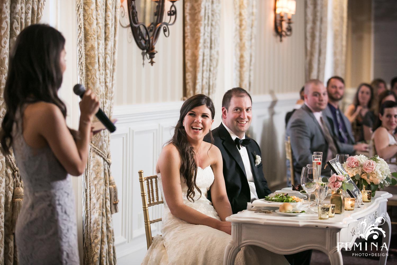 Maid of Honor speech at Jackie and Matt's wedding at Mallard Island Yacht Club