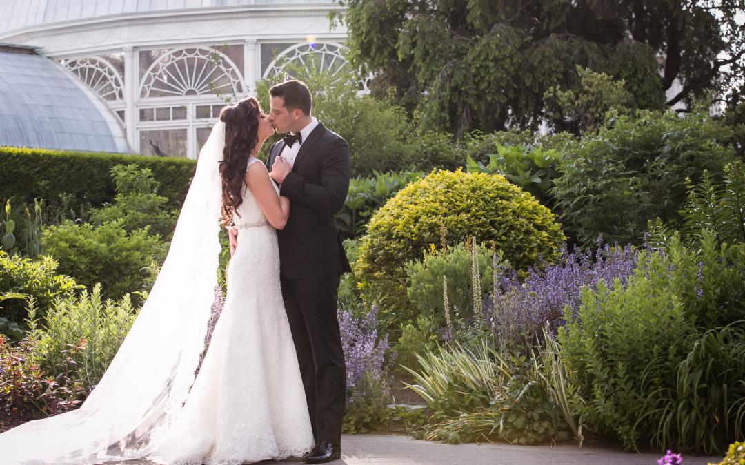 Christina + Ryan   NYBG Wedding Photography