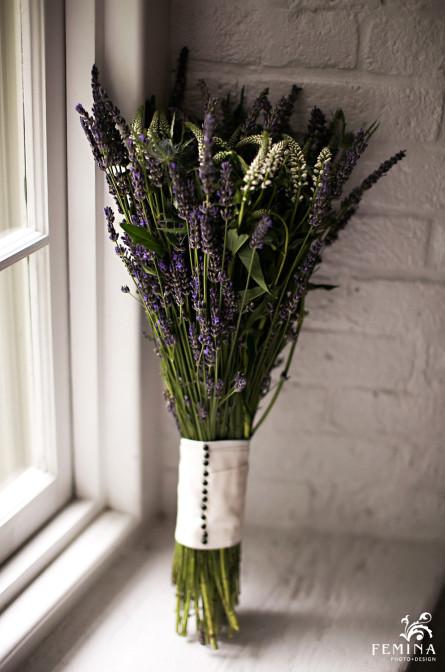 Marijela's wedding bouquet
