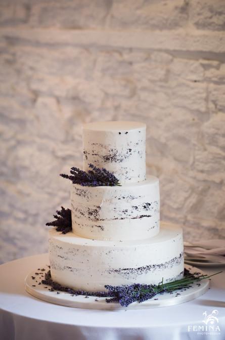 Marijela and Steven's wedding cake