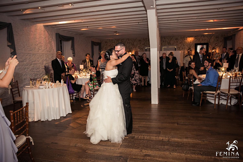 Marijela and Steven's first dance