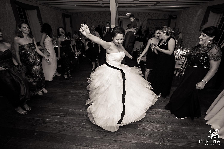 Marijela dances at her reception
