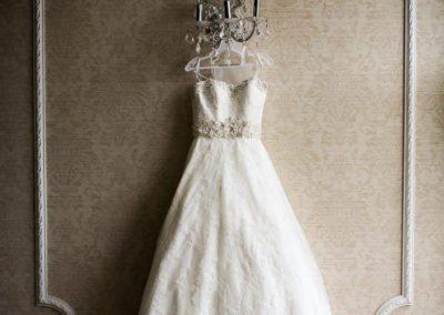 Wedding Dress Detail at Addison Park