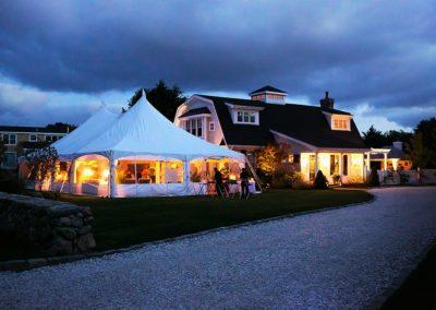 Tented Reception for Martha's Vineyard Wedding