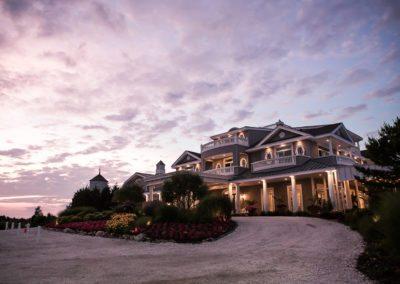 Bonnet Island Estate Wedding Photography at sunset