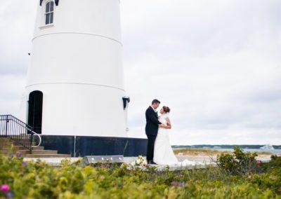 Lighthouse Wedding Photography on Martha's Vineyard