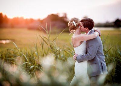 Long Beach Island sunset wedding photography