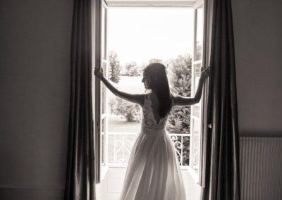 Bride in Bordeaux, France