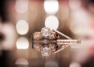 Wedding Ring Details & Bokeh Photography