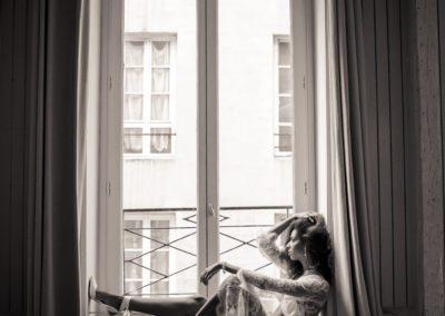 Bridal Boudoir in Paris, France