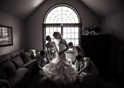 Getting Ready for Destination Wedding in Poconos