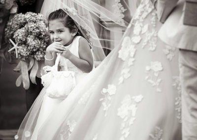 Flower Girl at Destination Beach Wedding