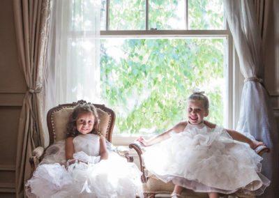 Flower Girls at Park Savoy wedding in New Jersey