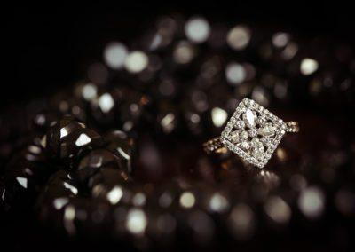 Heirloom Engagement Ring at Otesaga Hotel Wedding