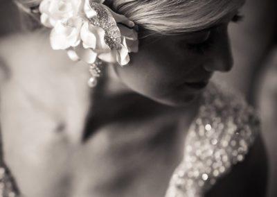 Bridal Embellishments at Otesaga Hotel Wedding