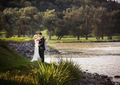 Otesaga Hotel Wedding Photography of Bride and Groom