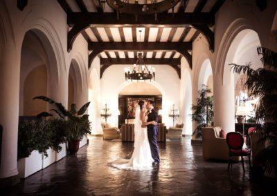 Bride and Groom at Montauk Manor Long Island Wedding