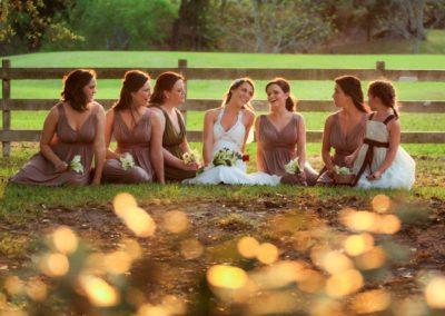 Bridal Party at Texas Destination Wedding