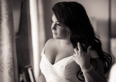 Bridal Portrait before Bellevue Wedding in Philadelphia