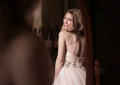 Bride at Peter Allen House Wedding