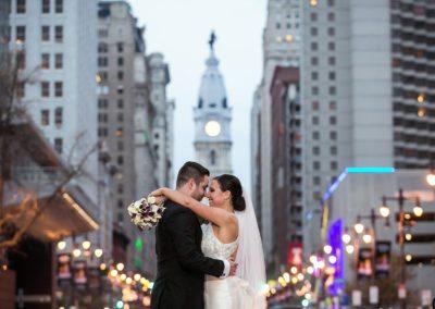 Broad Street Wedding Photography in Philadelphia