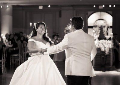 First Dance at Bellevue Wedding in Philadelphia
