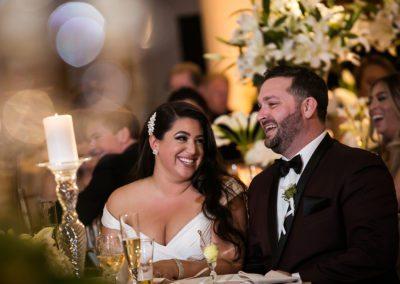 Toasts during Bellevue Wedding in Philadelphia