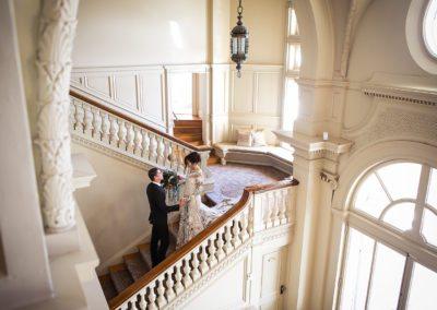 First Look at Cairnwood Estate Wedding in Philadelphia