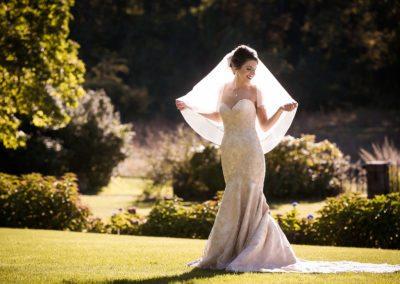 Bridal Portrait at Brantwyn Estate wedding in Wilmington, Delaware
