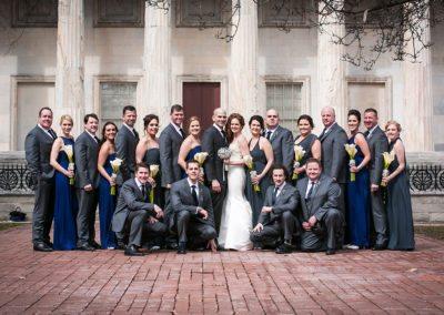 Bridal Party in Washington Square Park, Philadelphia