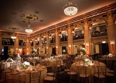 Ballroom at the Ben Wedding Reception Photography