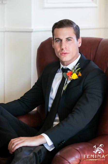 Tony's groom portrait
