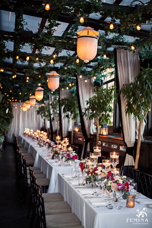 Gramercy Park Hotel Wedding Reception Photos