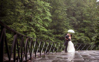 Marijela + Steven | Rainy New York Botanical Gardens Wedding Photographer