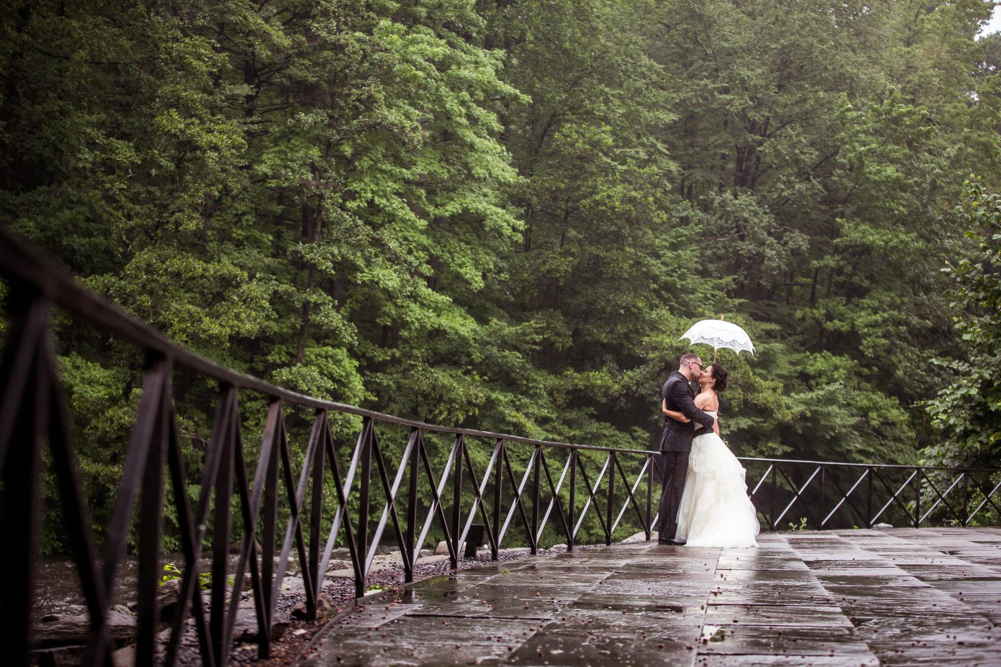Marijela + Steven | New York Botanical Gardens wedding at Stone Mill