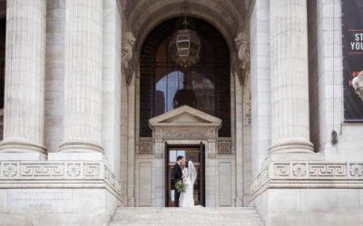 Siena + Jonathan | Bryant Park Wedding