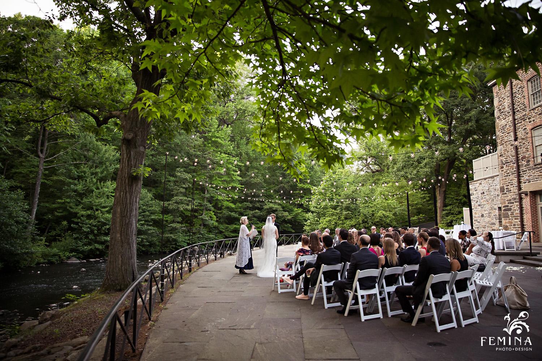 Stone Mill Wedding at New York Botanical Garden