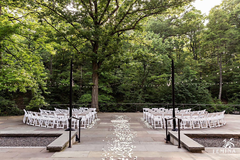 Stone Mill Wedding Ceremony at New York Botanical Garden