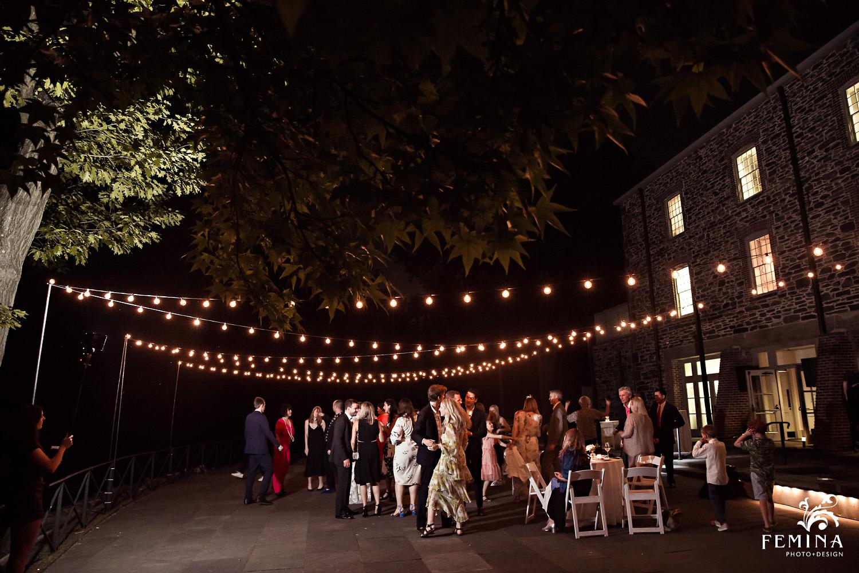 Stone Mill Wedding reception at NY Botanical Garden