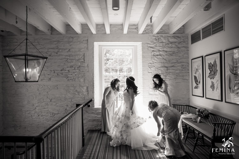 Stone Mill Wedding at New York Botanical Gardens