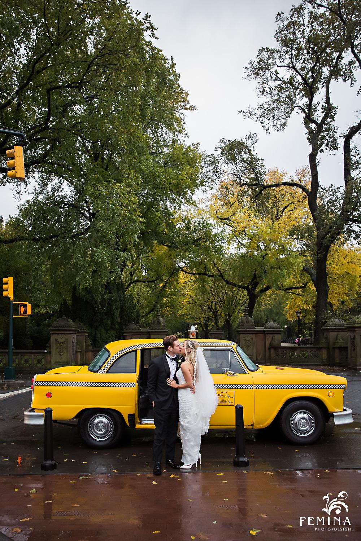 Central Park Loeb Boathouse Wedding Photographer