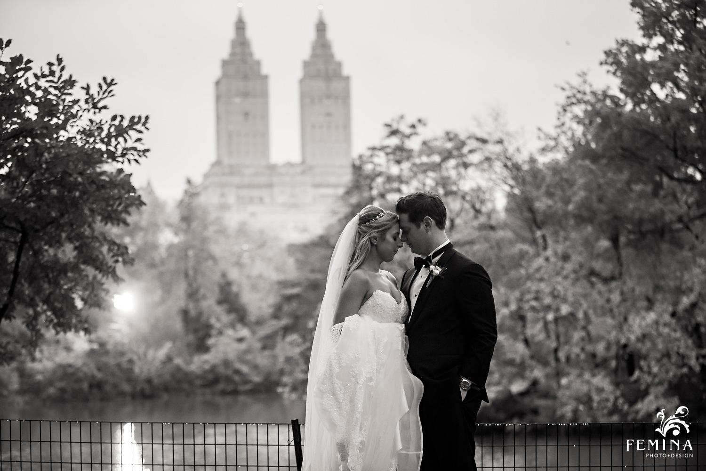 Central Park NYC Loeb Boathouse Wedding Photographers