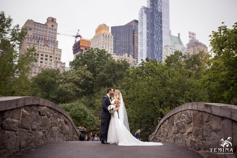 Central Park Conservatory Gardens Wedding Photographer