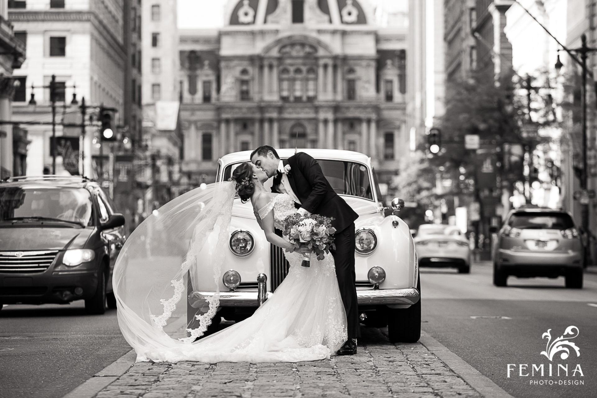 City Hall Broad Street Philadelphia Wedding Photographer